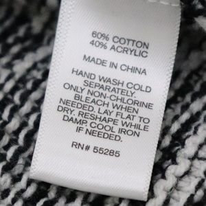 Express Sweaters - EXPRESS BLACK AND WHITE CARDIGAN